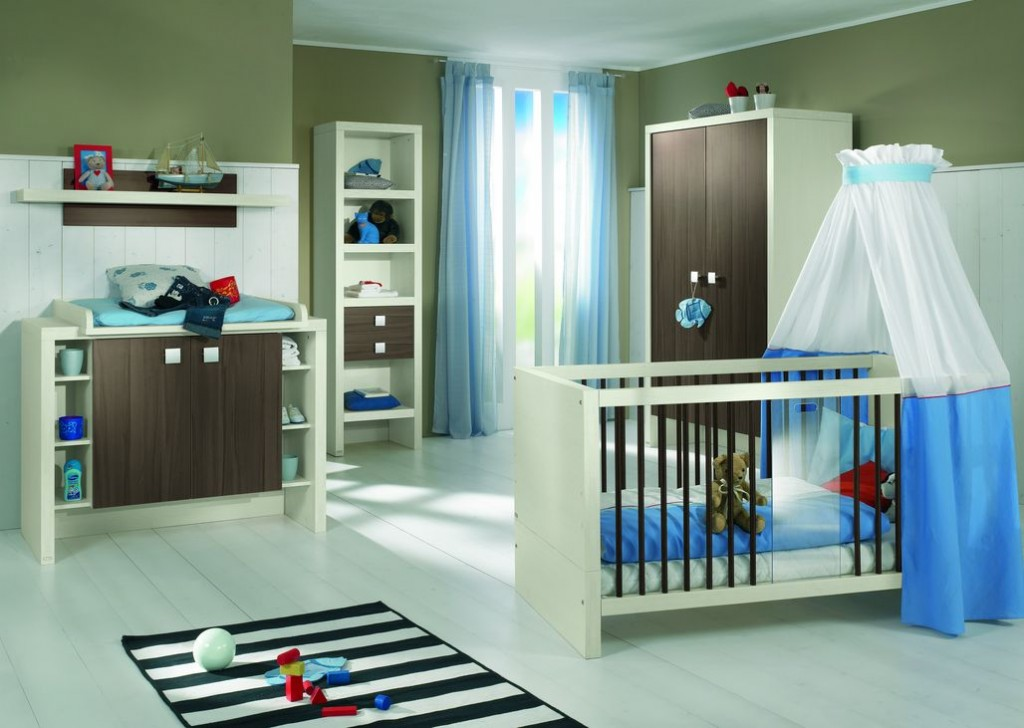 Jolie ambiance chambre b b moderne for Ambiance chambre enfant