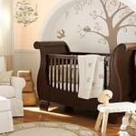 ambiance chambre bébé zen