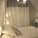 ambiance chambre gris et blanc