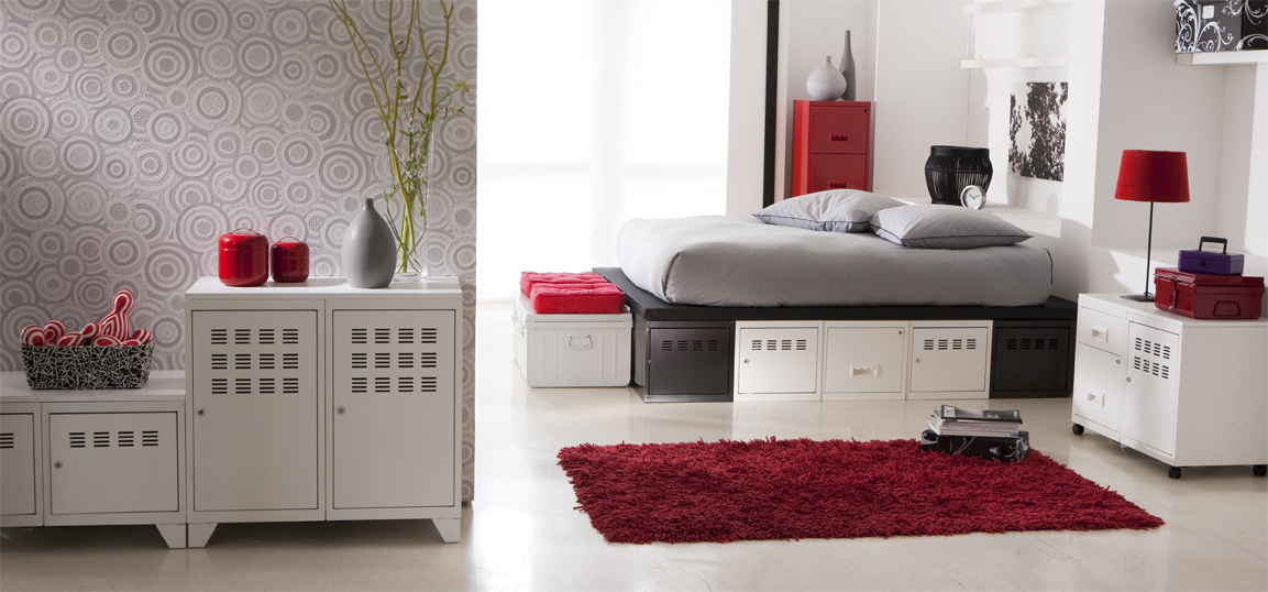 ambiance chambre gris et blanc. Black Bedroom Furniture Sets. Home Design Ideas