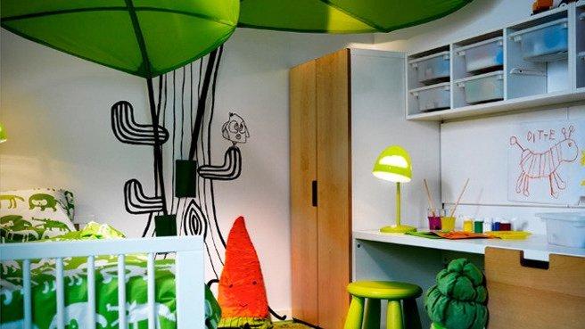 Conseil ambiance chambre vert for Conseil deco chambre