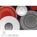 ambiance cuisine gris et rouge