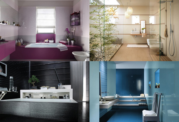 Guide ambiance salle de bain moderne for Photo moderne deco