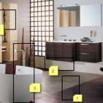 ambiance salle de bain moderne