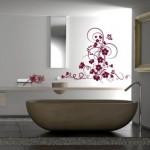 ambiance salle de bain stickers