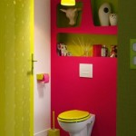 ambiance wc - toilettes rose