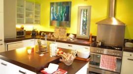 déco cuisine jaune