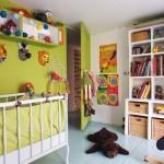 décoration chambre garçon marron