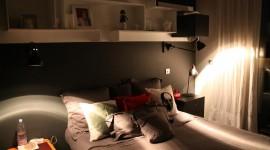 décoration chambre marron