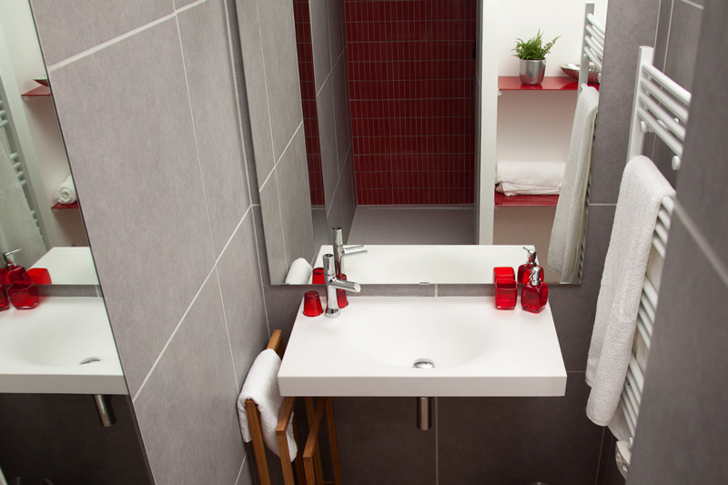 Best Decoration Salle De Bain Rouge Ideas - ansomone.us - ansomone.us
