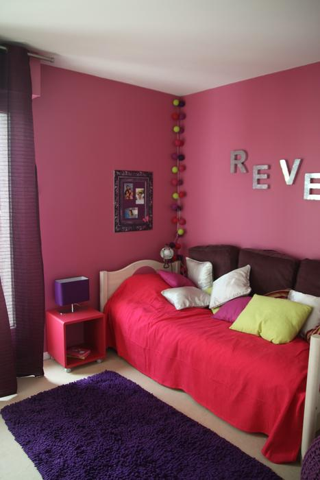 Best Idee Deco Chambre Fille Rose Contemporary - Amazing House ...