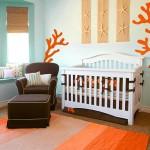 idée déco chambre bébé turquoise