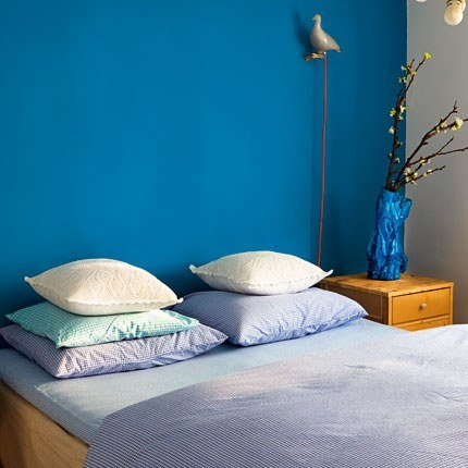 id e d co chambre bleu. Black Bedroom Furniture Sets. Home Design Ideas