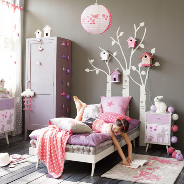 nouvelle id e d co chambre fille nature. Black Bedroom Furniture Sets. Home Design Ideas