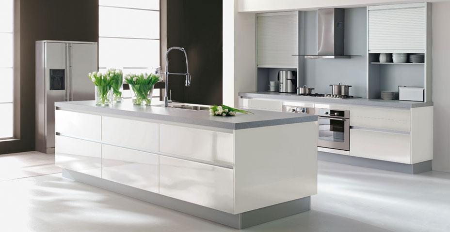 Quelle id e d co cuisine blanc for Deco de cuisine moderne blanc