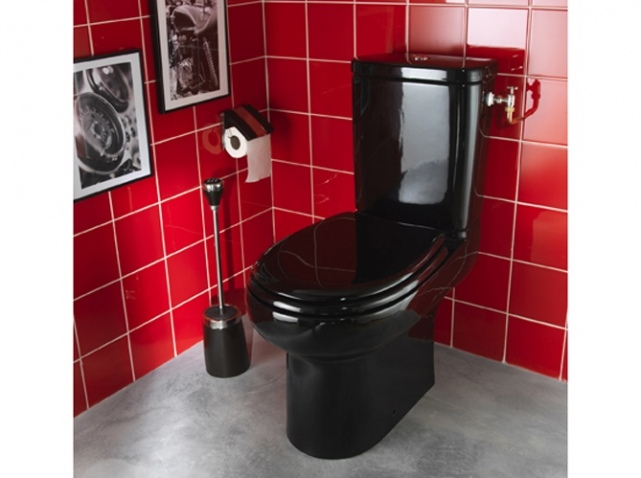 Photo d co id e d co wc toilettes blanc guide - Idee deco wc geschorst ...
