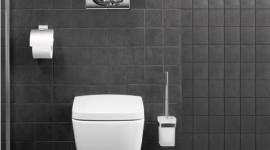 idée déco wc - toilettes blanc