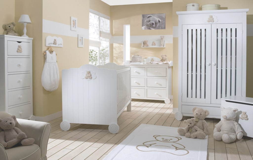 Style ambiance chambre b b blanc for Ambiance chambre enfant