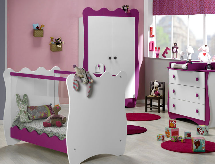 Photo ambiance chambre fille prune for Ambiance chambre fille