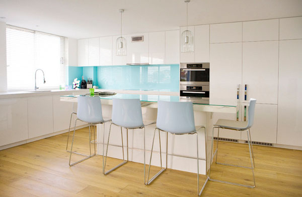 Mod le ambiance cuisine bleu for Ambiance cuisine