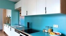 ambiance cuisine bleu