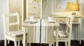 ambiance salle à manger blanc