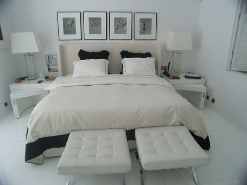 inspiration d co chambre moderne. Black Bedroom Furniture Sets. Home Design Ideas