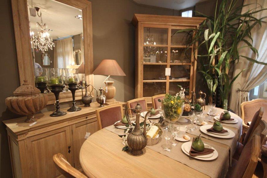 d co salle manger beige. Black Bedroom Furniture Sets. Home Design Ideas