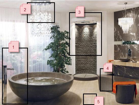 Mod le d co salle de bain ethnique for Modele deco salle de bain