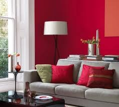 Inspiration d co salon gris et rouge - Deco salon gris et rouge ...