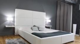 décoration chambre gris