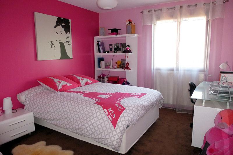 Modele De Chambre Pour Fille Ado : photodecodecorationchambrerosephotojpg