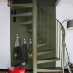 décoration cuisine kaki