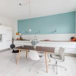 décoration cuisine turquoise