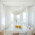 décoration salle à manger blanc