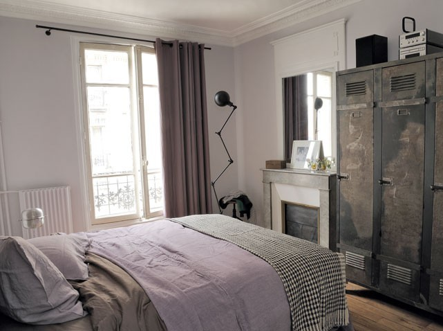 id e d co chambre fille industriel. Black Bedroom Furniture Sets. Home Design Ideas