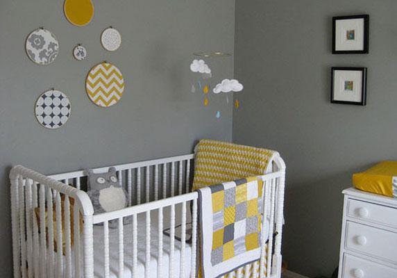 Inspiration id e d co chambre gar on jaune - Inspiration deco chambre ...