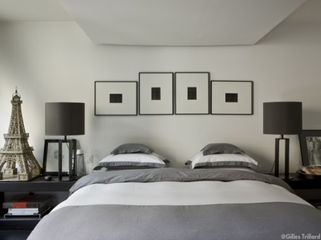 Quelle id e d co chambre gris for Idee deco chambre gris