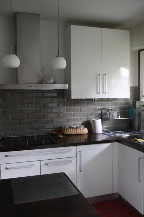 Quelle id e d co cuisine gris et blanc for Cuisine gris et blanc deco