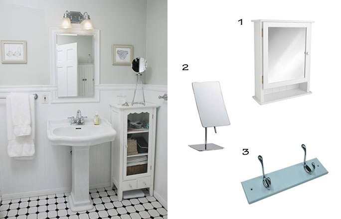 Mod le id e d co salle de bain blanc for Modele deco salle de bain