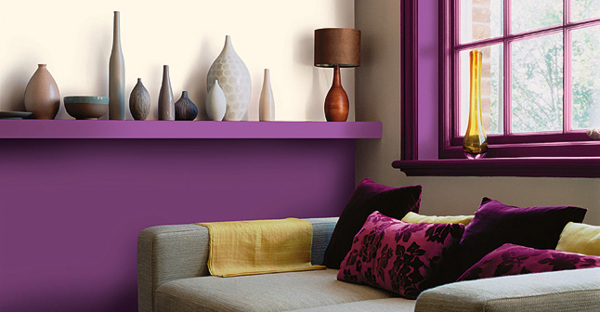 guide id e d co salon violet. Black Bedroom Furniture Sets. Home Design Ideas