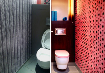 Inspiration id e d co wc toilettes moderne - Ideeen deco foto wc ...