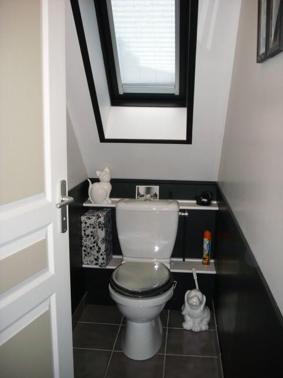 Mod le id e d co wc toilettes moderne - Exemple deco wc ...