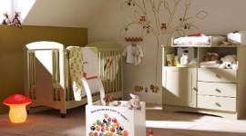 ambiance chambre bébé nature