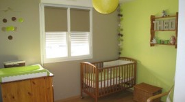 ambiance chambre bébé taupe