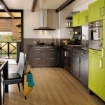 ambiance cuisine vert