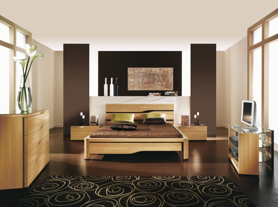 Deco chambre marron avec des id es - Modele de deco chambre ...