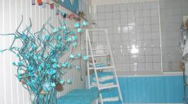 déco salle de bain turquoise