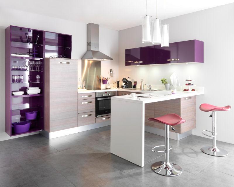 Conseil Decoration Cuisine Gris Et Violet