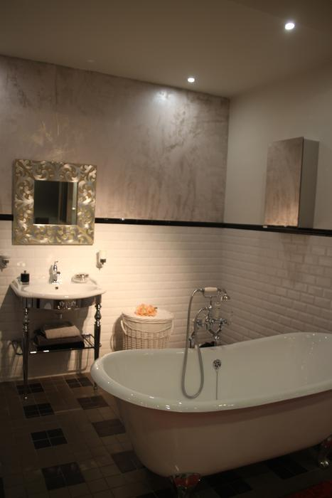 Awesome Salle De Bain Taupe Et Chocolat Ideas - Awesome Interior ...